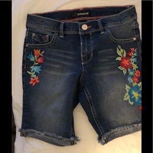 Girls Jordache Jean Shorts 10